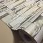 """Wallpaper Sticker แบบมีกาวในตัว """"ลายอิฐหินทราย 3D สีเขียว"""" หน้ากว้าง 122 cm ตัดแบ่งขายเมตรละ 250 บาท thumbnail 1"""