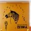 """สติ๊กเกอร์ติดผนังตกแต่งบ้าน """"ม้าลาย Singing Zebra"""" ความสูง 105 cm กว้าง 128 cm thumbnail 1"""