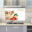 "Aluminium Sticker สติ๊กเกอร์กันน้ำมันกระเด็น ""Vegetarian Food"" ขนาด 45cm x 75cm thumbnail 1"