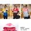 เสื้อกันหนาว มีฮูด เท่ๆ โทนแดง/เหลือง ลายแมวน่ารัก thumbnail 4