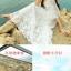 ชุดโบฮีเมียนลูกไม้ สายเดี่ยว + เสื้อคลุม ชุดฤดูร้อน เที่ยวรีสอร์ท ชายหาดกระโปรง ชุดสองชิ้น thumbnail 5
