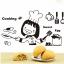 """สติ๊กเกอร์ติดผนังตกแต่งบ้าน """"Cooking Sweet Egg"""" ความสูง 25 cm ยาว 40 cm thumbnail 4"""