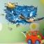"""สติ๊กเกอร์ติดผนัง 3D """"เต่าทะเล"""" ความสูง 70 cm กว้าง 110 cm thumbnail 6"""
