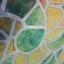 """สติ๊กเกอร์ติดกระจกแบบมีกาวในตัว """"Green and Orange"""" หน้ากว้าง 90 cm ตัดแบ่งขายเมตรละ 189 บาท (ขั้นต่ำ 3m) thumbnail 4"""