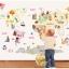 """สติ๊กเกอร์ติดผนังตกแต่งห้อง """"แผนที่ World kids map"""" ความสูง 80 cm กว้าง 120 cm thumbnail 2"""