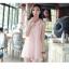 ชุดแซก ลูกไม้เกาหลี (สีชมพู) คอปก thumbnail 3