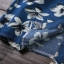 เวอร์ชั่น 2016 เสื้อเชิ้ตยีนส์ ลายคลาสสิก พิมพ์ลายดอกไม้ thumbnail 13