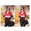 เสื้อกันหนาว มีฮูด เท่ๆ โทนแดง/เหลือง ลายแมวน่ารัก thumbnail 3