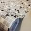 """Wallpaper Sticker วอลล์เปเปอร์แบบมีกาวในตัว """"โมเสคสีเทาดำขาว"""" หน้ากว้าง 1.22m ตัดขายตามความยาว เมตรละ 250 บาท thumbnail 1"""