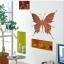 """สติ๊กเกอร์ติดผนังตกแต่งห้อง """"Brick Butterfly"""" ความสูง 55 cm กว้าง 59 cm thumbnail 2"""