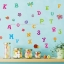 """สติ๊กเกอร์ติดผนัง สำหรับห้องเด็ก """"Cute Alphabet III ABC"""" ความสูง 100 cm กว้าง 150 cm thumbnail 1"""
