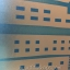 """สติ๊กเกอร์ติดกระจกแบบมีกาวในตัว """"Town เมืองสีฟ้า"""" ความสูง 90 cm ตัดแบ่งขายเมตรละ 189 บาท (ขั้นต่ำ 3m) thumbnail 4"""