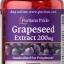 อาหารเสริมบำรุงผิว ลดริ้วรอย Puritan's Pride Grapeseed Extract 200 mg / 120 Capsules thumbnail 1