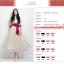 ชุดออกงานลูกไม้โบฮีเมียนนางฟ้า Xiaoqing ชุดกระโปรงใหม่เกาหลีน่ารักสง่างาม thumbnail 3