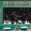 """สติ๊กเกอร์ตกแต่งเทศกาลคริสต์มาส """"Christmas Town II"""" ความสูง 67 cm ยาว 161 cm thumbnail 3"""
