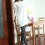 กางเกง เวอร์ชั่นเกาหลีใหม่ของลายสก๊อตสีดำ thumbnail 3
