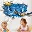 """สติ๊กเกอร์ติดผนัง 3D """"เต่าทะเล"""" ความสูง 70 cm กว้าง 110 cm thumbnail 3"""