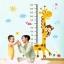 """สติ๊กเกอร์ติดผนัง สำหรับห้องเด็ก """"Height Scale Giraffe"""" สเกลเริ่มต้น 20 cm ถึง 180 cm thumbnail 2"""