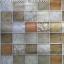 "Wallpaper Sticker วอลล์เปเปอร์แบบมีกาวในตัว ""Brown Tiles"" หน้ากว้าง 1.22m ตัดขายตามความยาว เมตรละ 250 บาท thumbnail 3"