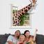 """สติ๊กเกอร์ติดผนัง 3D """"Giraffe"""" ความสูง 79 cm กว้าง 74 cm thumbnail 2"""