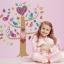 """สติ๊กเกอร์เรืองแสงตกแต่งห้องเด็ก """"Colorful Bird Tree"""" ความสูง 85 cm กว้าง 75 cm thumbnail 2"""