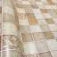 "Wallpaper Sticker วอลล์เปเปอร์แบบมีกาวในตัว ""Brown Tiles"" หน้ากว้าง 1.22m ตัดขายตามความยาว เมตรละ 250 บาท thumbnail 9"