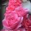 ดอกไม้กระดาษ ติดตั้งเอง DIY โทนสีชมพูหวานสดใส thumbnail 2