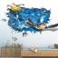 """สติ๊กเกอร์ติดผนัง 3D """"เต่าทะเล"""" ความสูง 70 cm กว้าง 110 cm thumbnail 2"""