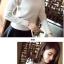 PRE เสื้อไหมพรม คอปีนพับ สไตล์เกาหลี thumbnail 16