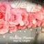 ดอกไม้กระดาษ ติดตั้งเอง DIY โทนสีชมพูหวานสดใส thumbnail 4
