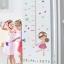 """สติ๊กเกอร์ติดผนังตกแต่งบ้าน """"ที่วัดส่วนสูง Cute Sweet Girl"""" สเกลเริ่มต้น 70 cm ถึง 170cm thumbnail 2"""