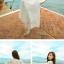 ชุดโบฮีเมียนลูกไม้ สายเดี่ยว + เสื้อคลุม ชุดฤดูร้อน เที่ยวรีสอร์ท ชายหาดกระโปรง ชุดสองชิ้น thumbnail 4