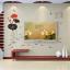 """สติ๊กเกอร์ติดผนัง หมวดดอกไม้ """"Black and Red Lotus"""" ความสูง 125 cm กว้าง 160 cm thumbnail 4"""