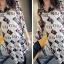 เสื้อชีฟองพิมพ์และส่วนยาวบางเป็นเสื้อชีฟองบาง thumbnail 14