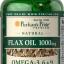 ป้องกันโรคหัวใจ การไหลเวียนโลหิต Puritan 'sPride Flax Oil 1000 mg / 120 เม็ด thumbnail 1