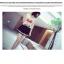 เสื้อซีฟอง แขนกุด สีขาวที่เรียบง่ายคมชัด (โบว์สีแดง) thumbnail 3