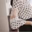 เสื้อ แฟชั่น เกาหลี แขนเสื้อลูกไม้ คอปกแขนยาว เสื้อชีฟอง thumbnail 7