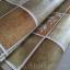 "Wallpaper Sticker วอลล์เปเปอร์แบบมีกาวในตัว ""Brown Tiles"" หน้ากว้าง 1.22m ตัดขายตามความยาว เมตรละ 250 บาท thumbnail 2"