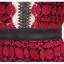 ชุดเดรส แขนสั้น สีแดงคอปก ลูกไม้ด้านในสั้น (พรีออร์เดอร์) thumbnail 9