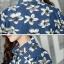 เวอร์ชั่น 2016 เสื้อเชิ้ตยีนส์ ลายคลาสสิก พิมพ์ลายดอกไม้ thumbnail 9