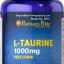 ช่วยอินซูลิน Puritan's Pride L-Taurine 1000 mg ขนาด 50 เม็ด thumbnail 1