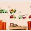 """สติ๊กเกอร์ติดผนัง ห้องเด็ก """"Cute Traffic รถยนต์"""" ความสูง 50 cm กว้าง 140 cm thumbnail 4"""