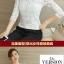 เสื้อลูกไม้เกาหลีคอ Vแขนยาว สีขาว ดำ thumbnail 8