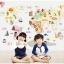 """สติ๊กเกอร์ติดผนังตกแต่งห้อง """"แผนที่ World kids map"""" ความสูง 80 cm กว้าง 120 cm thumbnail 3"""