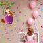 """สติ๊กเกอร์ติดผนังตกแต่งบ้าน """"เด็กผู้หญิงกับตัวโน๊ต"""" ความสูง 76 cm ยาว 223 cm thumbnail 1"""