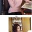 PRE เสื้อไหมพรม คอปีนพับ สไตล์เกาหลี thumbnail 20