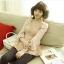 เสื้อ เกาหลีใหม่ organza +แขนซีฟอง thumbnail 3