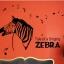 """สติ๊กเกอร์ติดผนังตกแต่งบ้าน """"ม้าลาย Singing Zebra"""" ความสูง 105 cm กว้าง 128 cm thumbnail 3"""