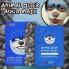 แผ่นมาร์กหน้าลายสัตว์ SNP ANIMAL MASK (Otter Aqua Mask) 1 กล่องมี 10แผ่น
