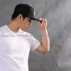 3Xl เสื้อยืด สีขาว คอกลม แขนสั้น Size 3XL